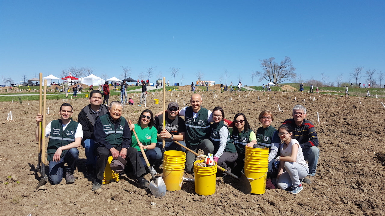 New Acropolis Toronto - Volunteering on Earth Day
