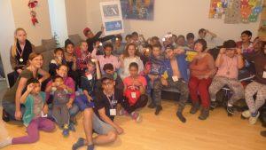 Juegos olímpicos para los niños de los orfanatos (Bratislava y Košice, Eslovaquia)