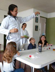 Experimentos científicos para los niños (Heredia, Costa Rica)