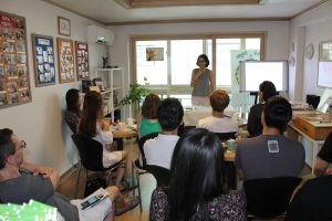 Workshop about the concept of YOLO (You only Live Once)  (Seoul, South Korea)
