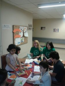 Fun and creative evenings for children at the University Hospital (Ioannina, Greece)