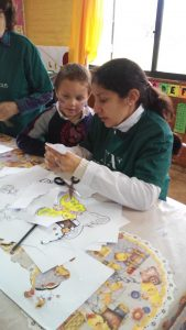 Celebrating Children's Day at the 'Amanecer' home for children (Uruguay)