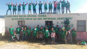 Reforestación en el Huizache (Estado de Guanajuato, León, México)