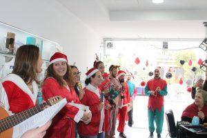 Christmas carols on the streets of the city (Nicosia, Cyprus)