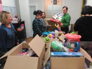 8ª Campaña de recogida de juguetes (Jaén, España)