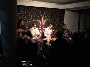 Celtic music concert by the group 'Peregrino Gris' (Costa Rica)