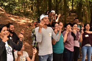 "Volunteering at the ' La Tigra' National Park"" (Tegucigalpa"