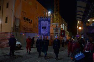 Al servicio de los actos culturales de la ciudad (L'Aquila, Italia)