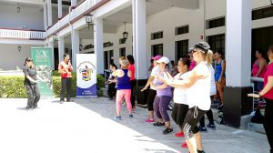 Tai Chi Classes in commemoration of International Women's Day (Alajuela, Costa Rica)