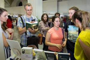 "5 Days Book Fair and Presentation of the New Book ""Swim Against the Flow"" (Kiev, Ukraine)"