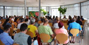 Conferencia en el departamento psiquiátrico del Centro Médico universitario (Maribor, Slovenia)