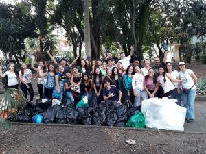 On 'Cleaning up our planet day' (Medellin, Colombia)