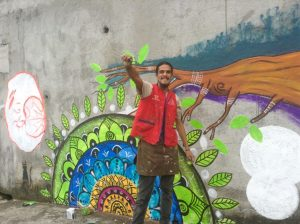 Mural: La naturaleza nos enseña (Alajuela, Costa Rica)