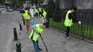 Participation in the World Cleanup Day 2018 (Brussels, Belgium)