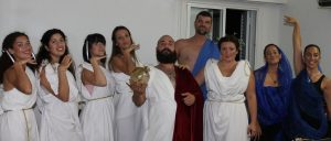 Play inspired by Greek mythology (Cyprus)