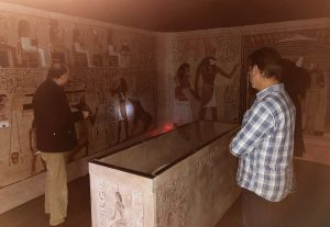Guided Tour of an Egyptian Tomb (Bilbao, Spain)