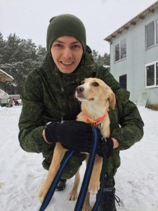 Colaboración en un refugio de animales (Moscu, Rusia)