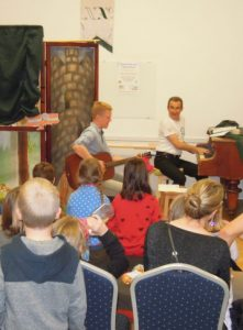 Puppet theatre The Little Prince and a visit from St. Nicolas (Prague, Czech Republic)
