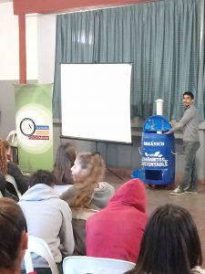 Taller de compostaje; aprender de la naturaleza (Córdoba, Argentina)