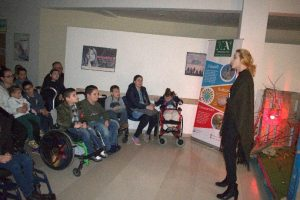 An entertainment evening for children with special needs (Pristina, Kosovo)