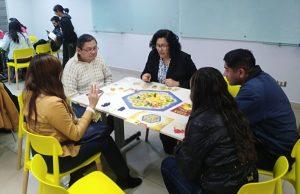 Strategy games to train the mind (Peru)