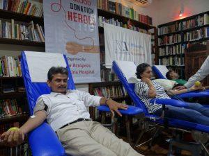Campaña solidaria de donación de sangre (Mumbai, India)
