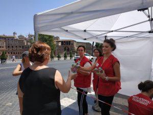 Heat wave emergency (Rome,  Italy)