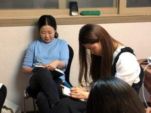 A workshop on Creativity (South Korea)