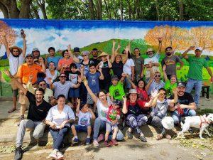 Mural en defensa de la naturaleza (San José, Costa Rica)