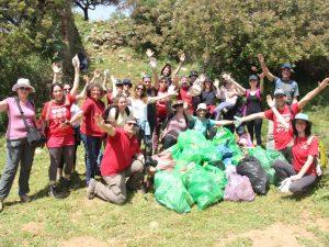 Cleaning Activity in Wadi Farod (Karmiel, Israel)