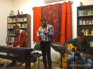 Soul Key – Open stage night (Krayot, Israel)