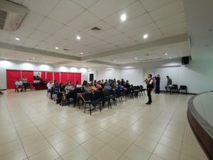"""Conferencia sobre """"El héroe cotidiano"""" (San Pedro Sula, Honduras)"""