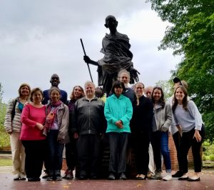 Honoring Gandhi's life and message at the Peace Abbey (USA)