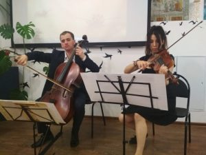 Concierto benéfico 'Homenaje a Alexander Pushkin' (Moscú, Rusia)