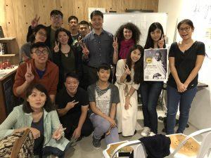 Gandhi – Non violence philosophy workshop (Taiwan)