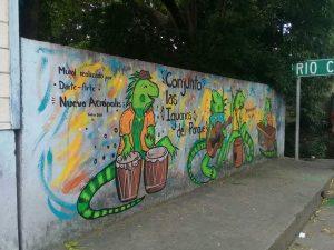 Mural con identidad en Nicoya (Guanacaste, Costa Rica)