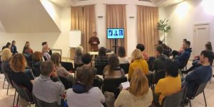 Lecture in Kyiv
