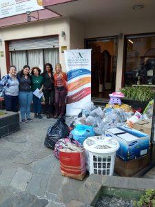 Campaña de donación a la ONG Obras Sociales (Montevideo, Uruguay)