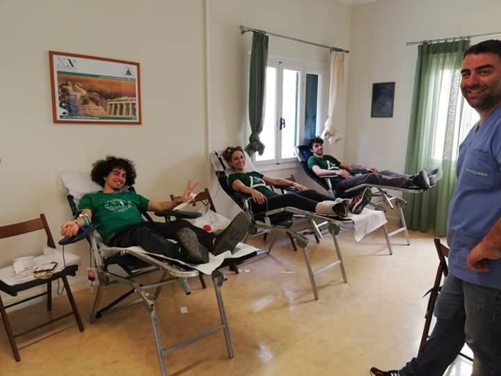 Athens (broader metropolitan area): Voluntary blood donation