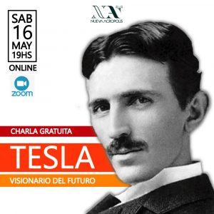 Charla: Tesla, visionario del futuro (Belgrano, Argentina)