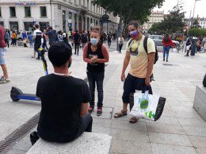Ayuda a las personas sin hogar (Lyon, Francia)