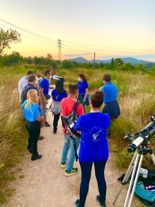 Astronomical observation (Sabadell, Spain)