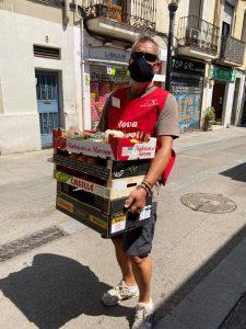 'Mercat Solidari' open and active (Barcelona, Spain)