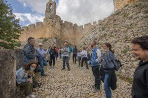 Visita al castillo templario de Tomar y al monasterio de Alcobaça (Coímbra, Portugal)