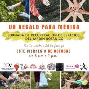 """Campaña """"Un regalo para Mérida"""" para celebrar su fundación (Venezuela)"""