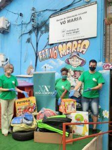 Campaña de donación de uniformes y juguetes a guarderías necesitadas (Porto Alegre/RS, Brasil)