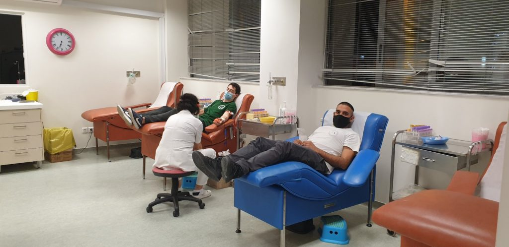 Blood donation in Greece