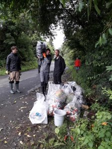 Cleaning a natural reserve (Belgium)