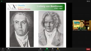 Online lecture on the inspiring personality of Ludwig van Beethoven (Bratislava, Slovakia)